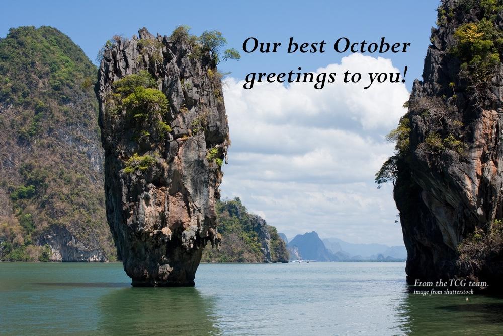 TCG newsletter 2020 October Greetings